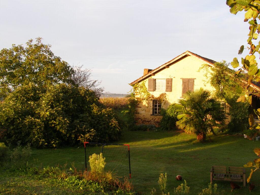 dom na wsi Francja