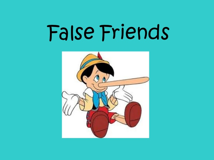 false friends przykłądy