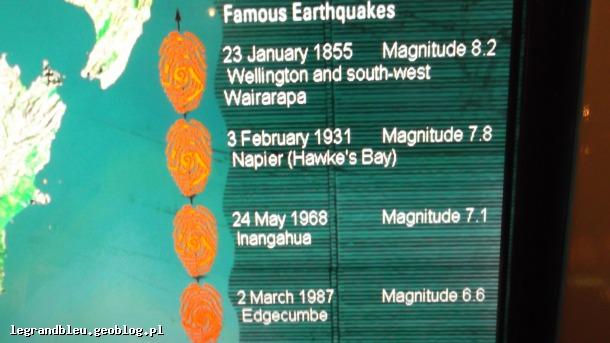 trzęsienia ziemi w Nowej Zelandii