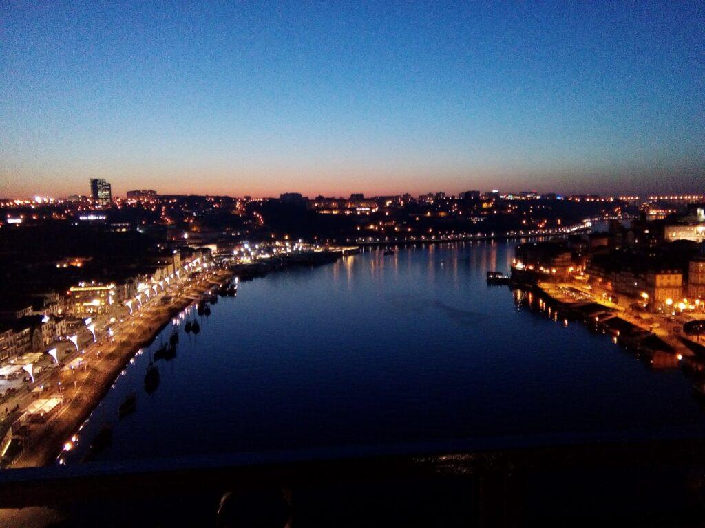 widok na Porto i Gaia
