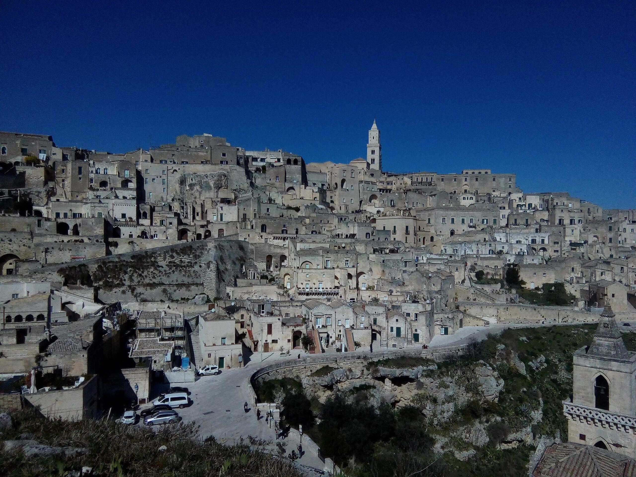 Alberobello i Matera zimą