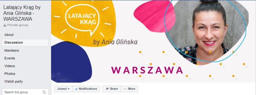 Latające Kręgi Ania Glińska