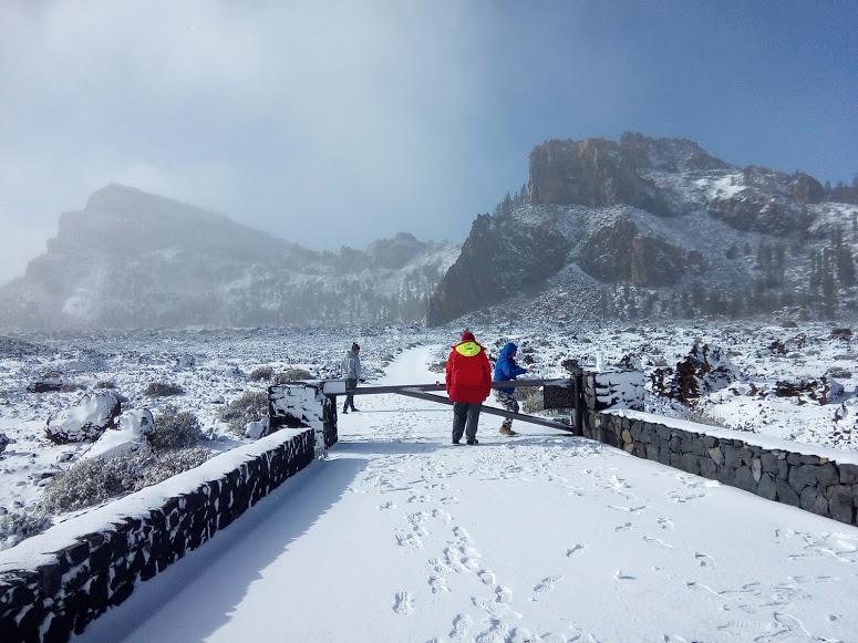 śnieg na Teneryfie