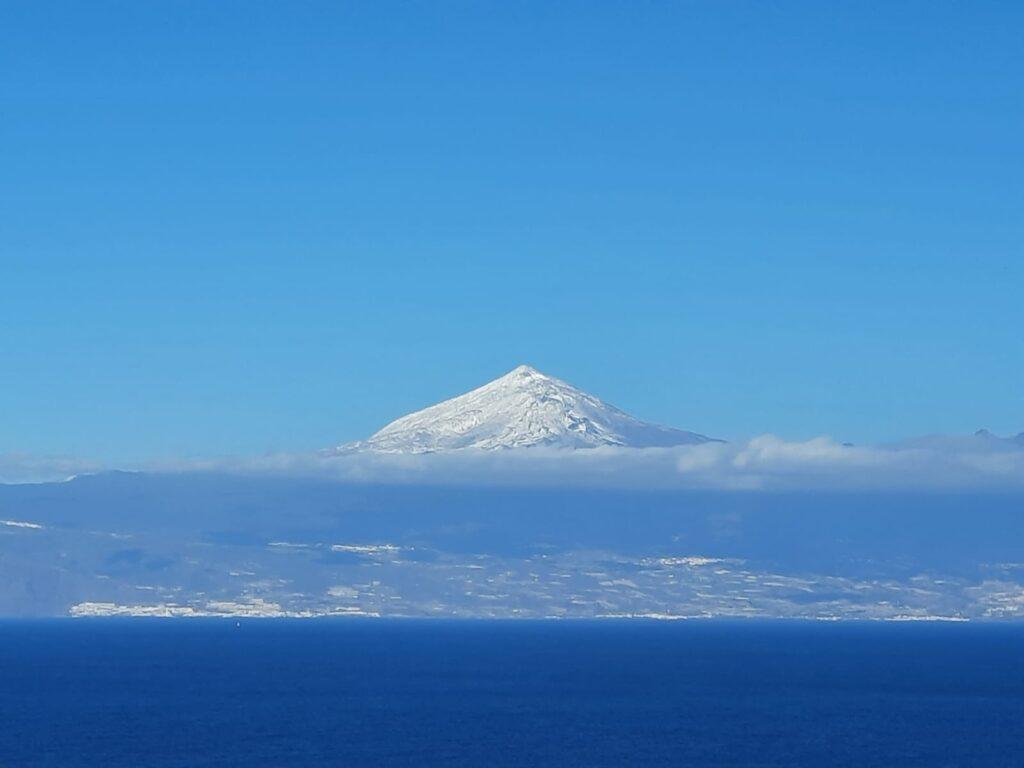 widok na Teide