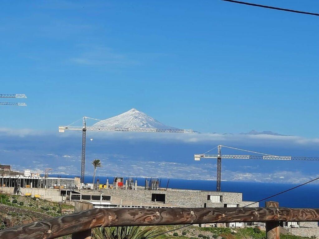 dźwigi i Teide
